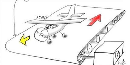 Взлетит ли самолет с конвейера
