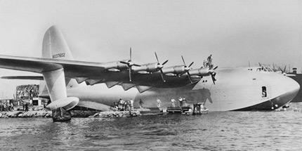 H-4-Hercules самый большой самолет