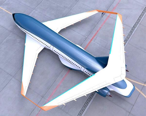 Самолет Parsifal. Замкнутое крыло