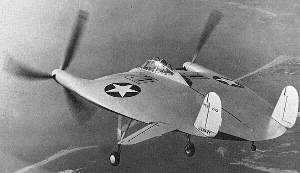 V-173 в полете