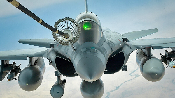 Французский Rafale, S-образные воздухозаборники