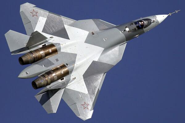 Форма Су-57, элементы малой заметности, форма двигателей